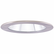 Elco EL1411N Contemporary Nickel 4  Adjustable Shower Recessed Lighting Trims With Clear Lens
