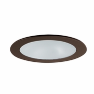 Elco EL1412BZ Modern Bronze 4  Adjustable Shower Recessed Lighting Trim
