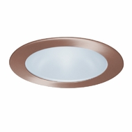 Elco EL1412CP Modern Copper 4  Adjustable Shower Recessed Lighting Trim