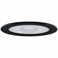 Elco EL1415B Contemporary Black 4  Adjustable Shower Recessed Lighting Trim