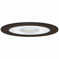 Elco EL1415BZ Modern Bronze 4  Adjustable Shower Recessed Lighting Trim