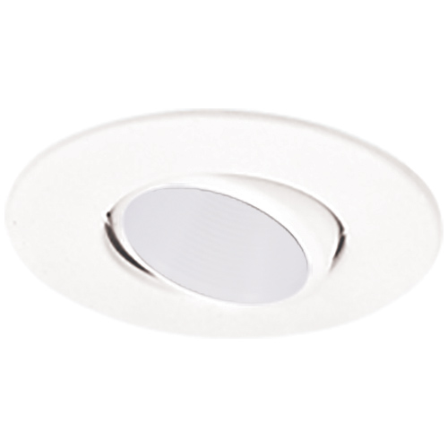 Elco el1434ww contemporary white 4 gimbal ring with deep recessed elco el1434ww contemporary white 4nbsp gimbal ring with deep recessed lighting baffle recessed lighting trim loading zoom aloadofball Images