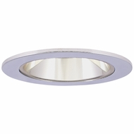 Elco EL2621CC Modern Clear Medium Base 3  Halogen Line Voltage Recessed Lighting Die Cast Adjustable Reflector Trim