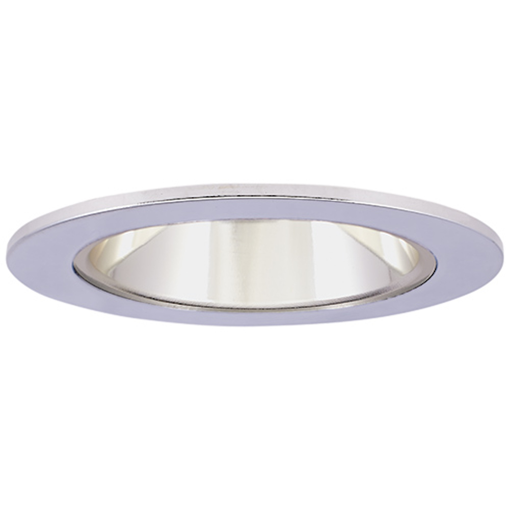 Elco El2621cc Modern Clear Medium Base 3 Halogen Line Voltage Recessed Lighting Cast Adjule Reflector Trim