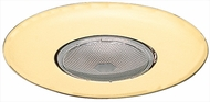 Elco EL30G Contemporary Gold Medium Base 6  Down Lighting Open Trim