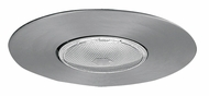 Elco EL30N Contemporary Nickel Medium Base 6  Recessed Lighting Open Trim
