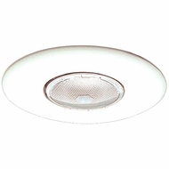 Elco EL30W Modern White Medium Base 6  Recessed Lighting Open Trim