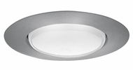 Elco EL40N Contemporary Nickel Medium Base 6  Recessed Light Open Trim