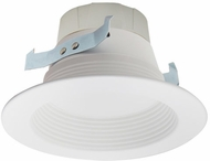 Elco EL410SDW Sunset Contemporary White LED 4  Dimming Baffle Insert