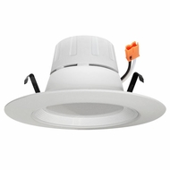 Elco EL412XXW White 4  Round LED Insert Baffle Recessed Lighting Trim