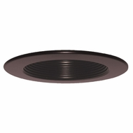 Elco EL4331BZ Bronze 4  Baffle Recessed Lighting Trim