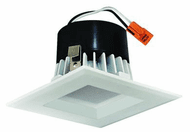 Elco EL442CT3W Contemporary White LED 4 Square LED Reflector Insert