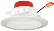 Elco EL455CT5W 5-CCT Modern White LED Recessed Lighting 4? Round LED Reflector