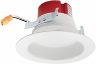 Elco EL455XXW 4� LED Contemporary White LED 4 Builder Round LED Reflector Recessed Lighting Insert