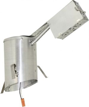 """Elco EL470RICA 4"""" LED Sloped Ceiling Housings and Trims Contemporary 4 LED IC Airtight Sloped Ceiling Remodel Housing"""
