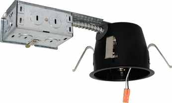 Elco EL492RICA 4  Shallow Airtight Remodel Housing For LED Recessed Light