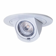 Elco EL497XXW Modern White 4  LED Round Adjustable Pull-Down Insert