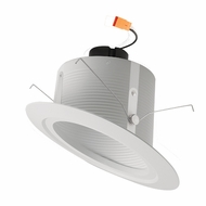 Elco EL51130W White Medium White LED 5u0026nbsp; Sloped Recessed Light Baffle Insert  sc 1 st  Affordable L&s & Elco 5