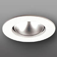 Elco EL530KW Contemporary White Medium Base 5  Recessed Lighting Open Trim (with Bracket)