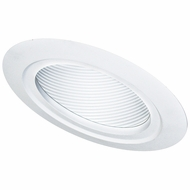 Elco EL560 Contemporary Medium Base 5  Sloped Recessed Lighting Baffle with Gimbal Trim