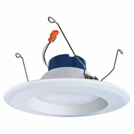 Elco EL615W White 5 /6  Round LED Insert Reflector Recessed Lighting Trim