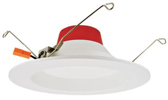 Elco EL655CT5W 5-CCT Modern White LED Recessed Lighting 5? / 6? Round LED Reflector