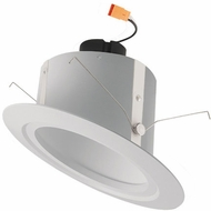 Elco EL715W White LED 6  Sloped Recessed Light Reflector Insert