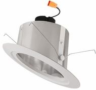 Elco EL716C Clear LED 6  Sloped Recessed Light Reflector Insert