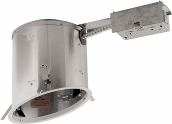 Elco EL918RICA Medium Base 6  Sloped Down Lighting IC Airtight Remodel Housing