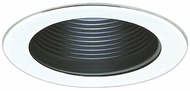 Elco EL993SB Contemporary White Medium Base 4 Down Lighting Baffle with Special Clips and Sockets Mini Trim