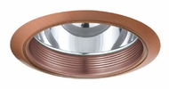 Elco ELA101CP Contemporary Copper Medium Base 6  Down Lighting Reflector with Baffle Trim