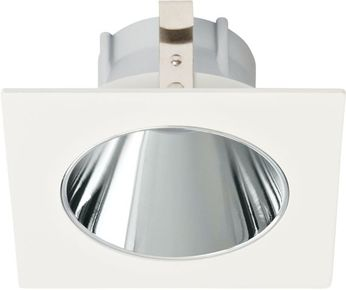 Elco ELK3318C Koto System Pex LED Contemporary Chrome with White Ring 3  Square Deep Reflector