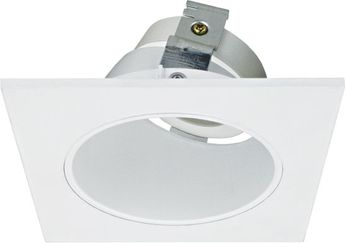 Elco ELK3322W Koto System Pex LED Contemporary All White 3 Square Adjustable Reflector Wall Wash