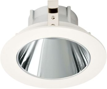 Elco ELK3618C Koto System Pex LED Contemporary Chrome Reflector White Ring 3  Round Deep Reflector