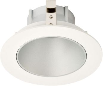 Elco ELK3618H Koto System Pex LED Contemporary Haze Reflector White Ring 3  Round Deep Reflector