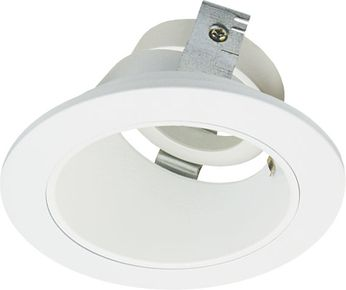 Elco ELK3622W Koto System Pex LED Contemporary All White 3 Round Adjustable Reflector Wall Wash
