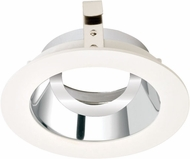 Elco ELK3629C Koto System Pex 3� LED Contemporary Chrome with White Ring 3 Round Adjustable Gimbal
