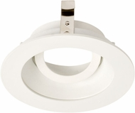 Elco ELK3629W Koto System Pex 3� LED Contemporary All White 3 Round Adjustable Gimbal