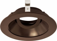 Elco ELK4129BZ Koto System Pex 4� LED Contemporary All Bronze 4  Round Adjustable Gimbal
