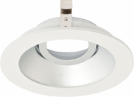 Elco ELK4129H Koto System Pex 4� LED Modern Haze with White Ring 4  Round Adjustable Gimbal