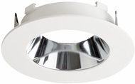 Elco ELL4621CW E.L.L. Flexa Contemporary Chrome / White 4  Round Relfector Trim