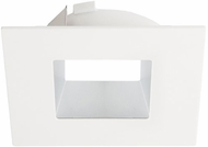 Elco ELL4641HW E.L.L. Flexa Contemporary Haze / White 4  Square Relector Trim