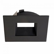 Elco ELL4643BB E.L.L. Flexa Contemporary Black 4  Square Baffle Trim