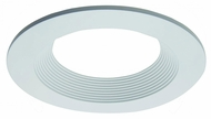 Elco ELL4813W E.L.L. System Unique Modern White 4? Round Baffle Recessed Lighting Trim