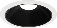 Elco ELL610BW E.L.L. System Flexa Contemporary Black with White 6? Round Reflector Recessed Lighting Trim