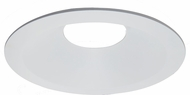 Elco ELL6812W E.L.L. Contemporary White 6  Diecast Round Steam Room Trim