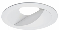 Elco ELL6815W E.L.L. Contemporary White 6  Diecast Round Wall Wash Trim