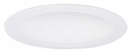 Elco ELM305W Modern White Medium Base 6  Down Lighting Shallow Airtight Baffle Trim