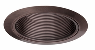 Elco ELM30BZ Contemporary Bronze Medium Base 6  Down Lighting Metal Baffle Trim