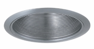 Elco ELM30N Contemporary Nickel Medium Base 6  Recessed Lighting Metal Baffle Trim